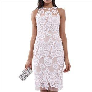 Reiss Meghan Floral Lace Dress